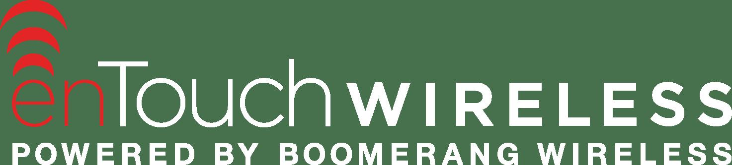 enTouch Logo - White